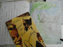 Benjamin West notebook page