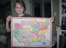 Oldest and his map work