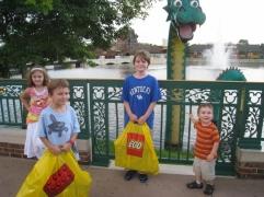 Grandma sponsored the trip to the Lego Store