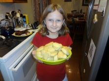 Sparkles made biscuits this week