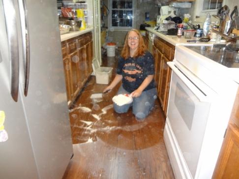 the flour explosion