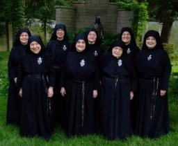 Sister Gemma is in the front row on the left
