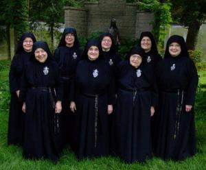 Sister Gemma is in the front row on the right