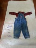Littlest's scarecrow from preschool