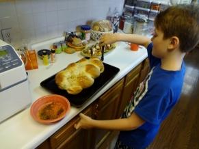 braided loaf