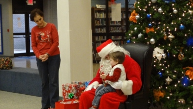 talking with Santa
