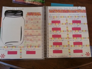 Weight loss goal page for 2015