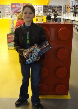 Oldest at Lego store