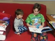 Oldest reading to Littlest