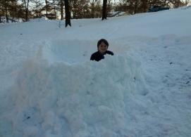 little snow fort