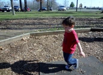 Littlest at park