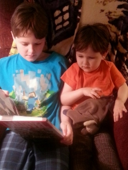 Oldest reading to Littlest