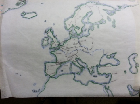 map-work