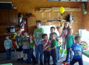 birthday party gang