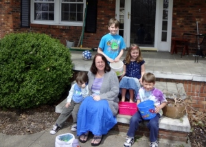 with my crew on Easter Sunday