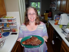 Mother's Day steak!