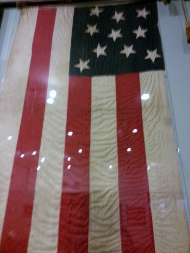 early 10 star Confederate States of America flag