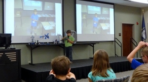 Middle Boy at Lego Camp