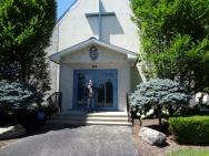 Oldest's tour of chapel