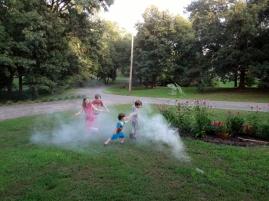 smoke bomb fun