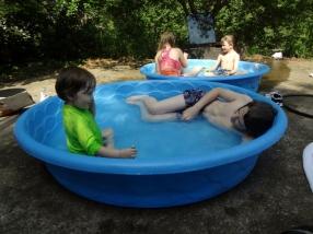 pool time fun