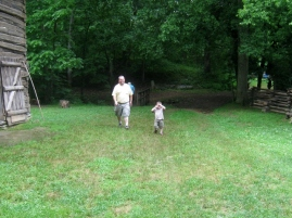my husband and Littlest