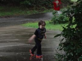 Littlest in the rain