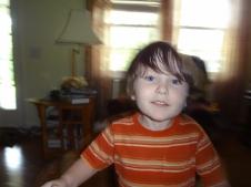 Littlest before haircut