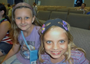 Sparkles and friend at VBS