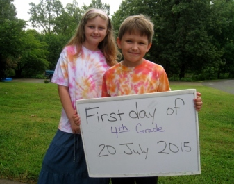first day of fourth grade