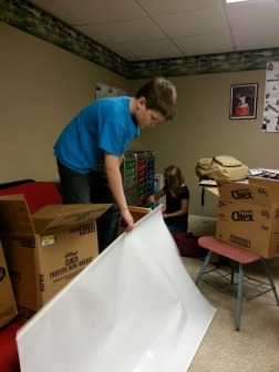packing the school room