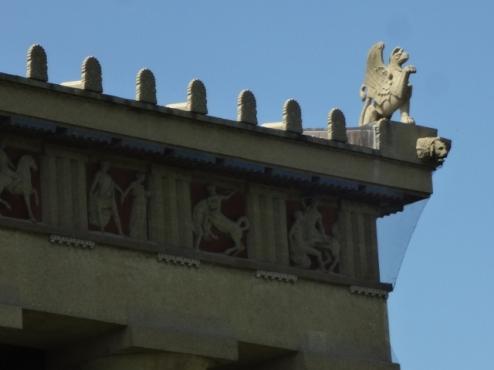 Parthenon roof detail