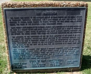 Parthenon marker
