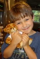 the relocation company sent each of the kids teddy bears and books about moving.