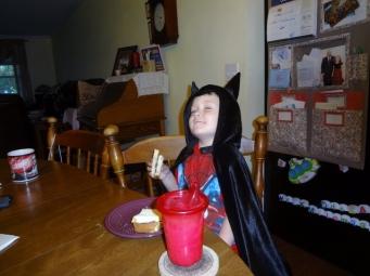 breakfast with Batman