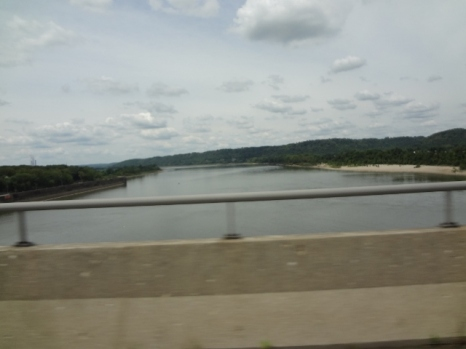 passing from Indiana to Kentucky