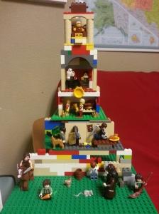 Lego feudalism model