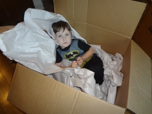 Littlest in a box!