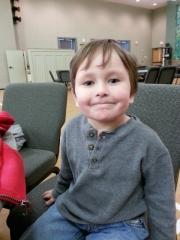 Littlest on his birthday