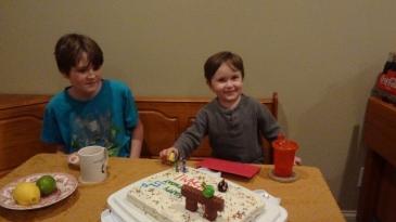Littlest's birthday