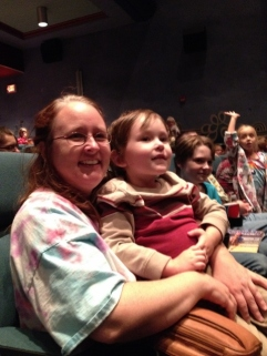 Littlest when Santa appeared at the end of the movie