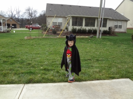 Batman out and about