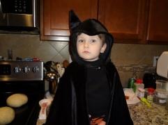 a very serious Batman