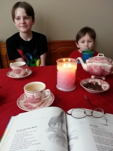 poetry tea time fun