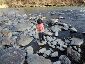 Littlest at Elkhoen Creek