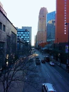 Cincinnati in the morning