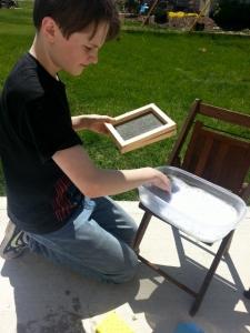Oldest making paper