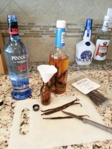 vanilla extract prep
