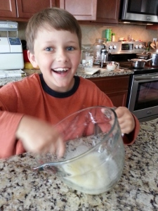 learning to make spoon bread