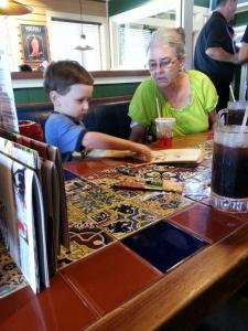 Grandma and Littlest